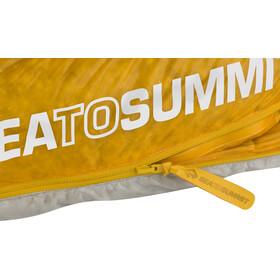 Sea to Summit Spark SpIII Sacco a pelo normale, grigio/giallo